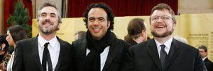 Fig. 5. De tre amigoer: Alfonso Cuarón, Alejandro Gonzáles Iñárritu og Guillermo del Toro.