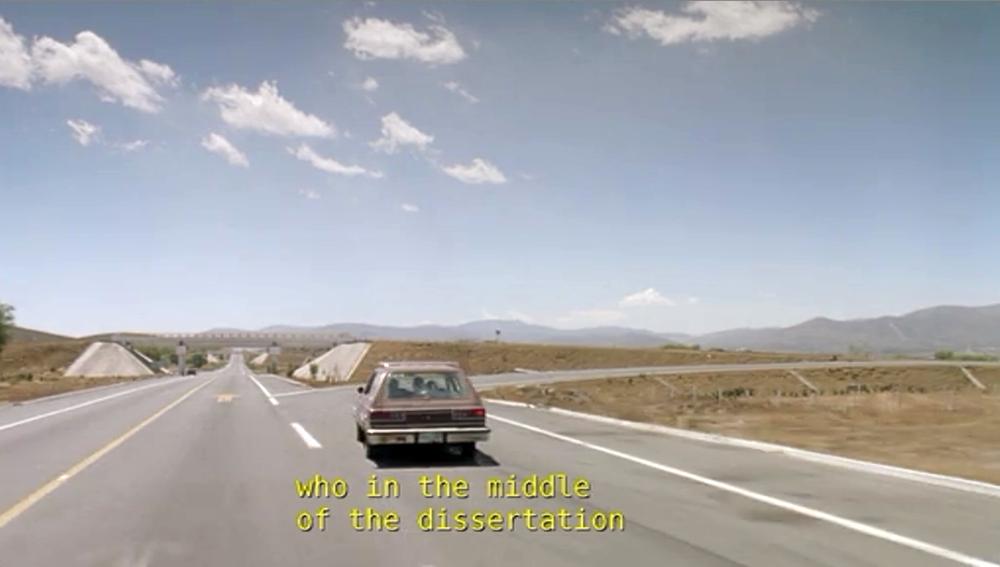 Fig. 9: Kameraets og bilens veje skilles.