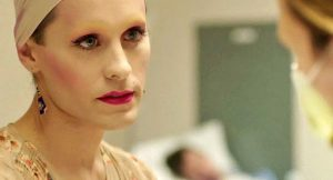 Fig.  5: Jared Leto som den transeksuelle Rayon. Leto er ligesom McConaughey nomineret til en oscar – i birollekategorien.