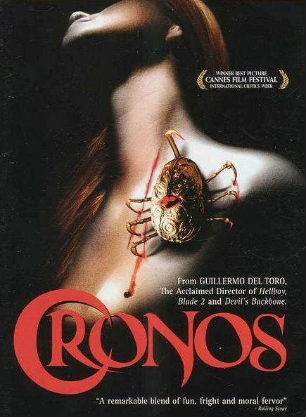 Fig. 2: Guillermo del Toro debuterede i 1993 med vampyrfilmen Cronos.