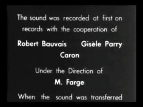 Fig. 5: Et af mange fejlæstetiske statements i Jean Isidore Isous eksperimentelle og grimme film Traité de bave et d'éternité (1951).