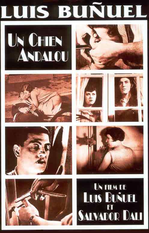 Fig. 13: Der er ingen andalusisk hund i Luis Buñuel og Salvador Dalís nu klassiske film – hvad man ellers skulle tro ud fra filmens titel.