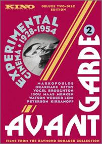 Fig. 14: Selskabet KINO har udgivet tre dvd-bokse, som sammen kompilerer en række af de væsentligste avantgarde- og eksperimentalfilm fra første halvdel af det 20. århundrede.