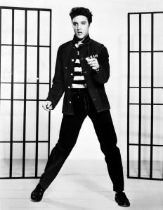Fig. 9: Ifølge Elvis behøver man ikke vide noget om musik for at være rockstjerne – det visuelle er lige så vigtigt.