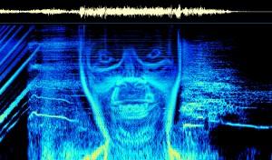 """Fig. 4: I en af sangene fra """"Windowlicker""""-EP'en gemmer sig et spectrogram af Aphex Twins ansigt."""