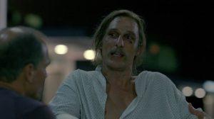 Fig. 17: Rust har set lyset i mørket og deler sin åbenbaring med Marty.