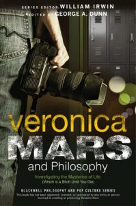 Fig. 2: Veronica Mars and Philosophy er en del af The Blackwell Philosophy and Pop Culture Series.