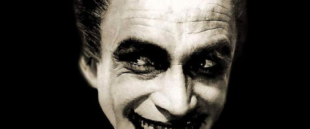 Fig. 2: Det fastfrostne smil i Paul Lenis The Man Who Laughs (1928) genfindes i Guillermo del Toros mexicanske El laberinto del Fauno (2006).