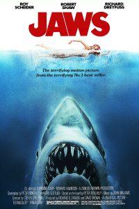 Fig. 2-3: To kulørte og effektive genrefilm, som indvarslede Hollywoodfilmens renæssance i slutningen af 1970'erne – og som pegede for nye tider for genrefilmen og de store franchises. Billedpar: Jaws (1975) og Star Wars (1977).