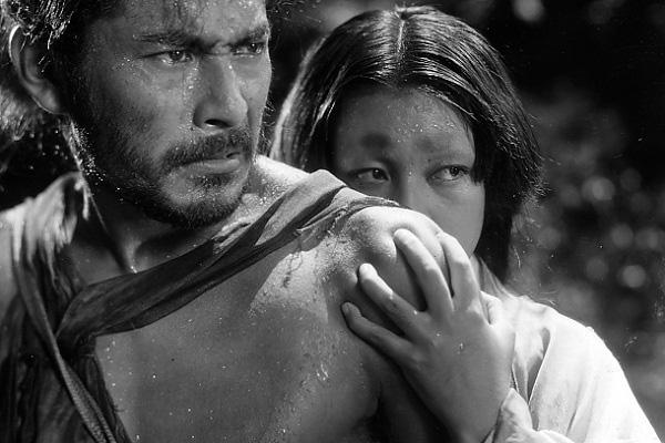 Fig. 12: I Akira Kurosawas Rashomon (1950) får man flere forskellige karakterers vidt forskellige udlægninger af den samme forbrydelse.