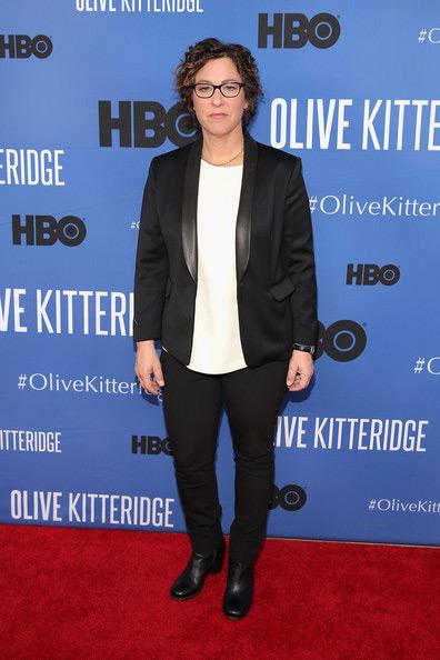 Fig. 8: Lisa Cholodenko – kvinden bag den prisvindende miniserie Olive Kitteridge, der måske kunne vinde i sin kategori, fordi True Detective blev rubriceret som dramaserie.