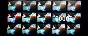 Fig. 1. En hektisk montage indleder filmen. Således introduceres hele Nick Caves liv op til dag nr. 20.000.