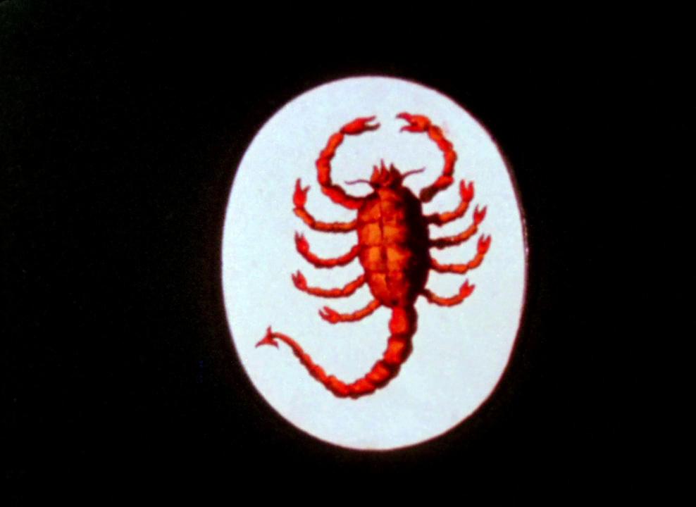 Fig. 4. Anger samstiller bikeren med et skorpionsymbol.