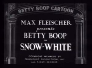Fig. 1: Snow White, produced by Fleischer Studios in 1933, is wonderfully bizarre – full of digressions and inconsistencies.