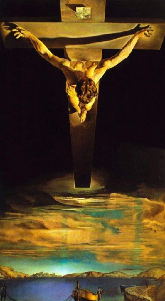 Fig. 14: Salvador Dali: Korsfæstelsen.