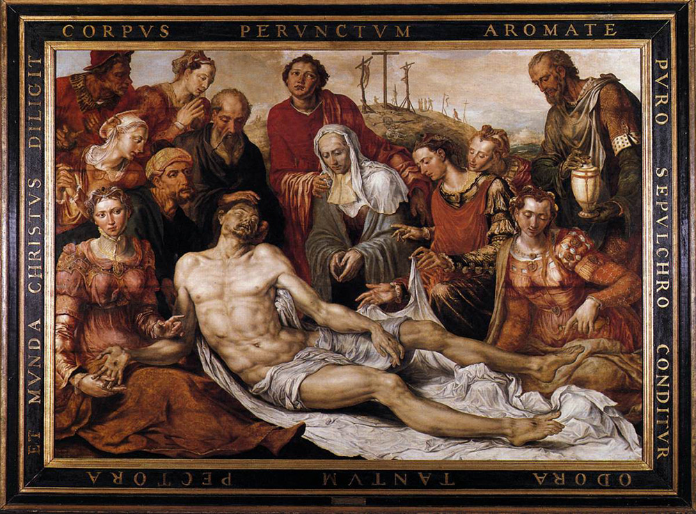 Fig. 8: Maerten van Heemskerck (1498 –1574): Lamentation of the Dead Christ.