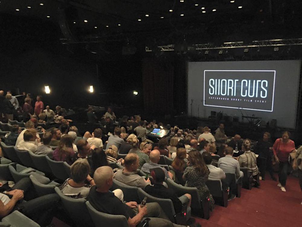 Fig. 2: Premierearrangementet kom som en konstruktiv reaktion på DFIs afskaffelse af festivalstøtten til danske kortfilm. Den debat går 16:9 tættere på i en kommende artikel.  Foto: Anne Uhrenholdt Kjeldsen.