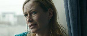 Fig. 8: Sarah Boberg evner at fortælle meget med få ansigtsbevægelser.