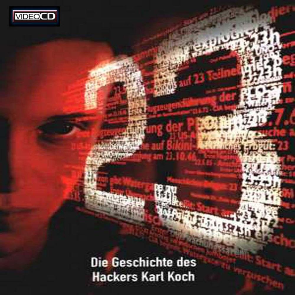 Fig. 6: August Diehl (f. 1976) i rollen som den legendariske hacker Karl Koch i filmen 23 – Nichts ist so wie es scheint (1998).