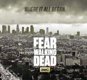 Fig. 11: Tv-serier som Fear the Walking Dead (AMC, 2015-) udkommer forskudt på mange forskellige platforme, og med de mange nye udgivelsesvinduer og sociale medier er muligheden blevet større for at foregribe og spoile handlingstråde i diverse film og tv-serier.