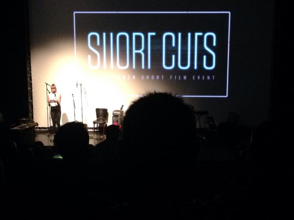 Fig. 5. Nadja Nørgaard Kristensen har forståelse for, at producenterne også selv skal tænke nyt inden for kortfilmsdistribution, men mener ikke, det kan erstatte værdien af en kortfilms festivalkredsløb. Foto: Anne Uhrenholt Kjeldsen.