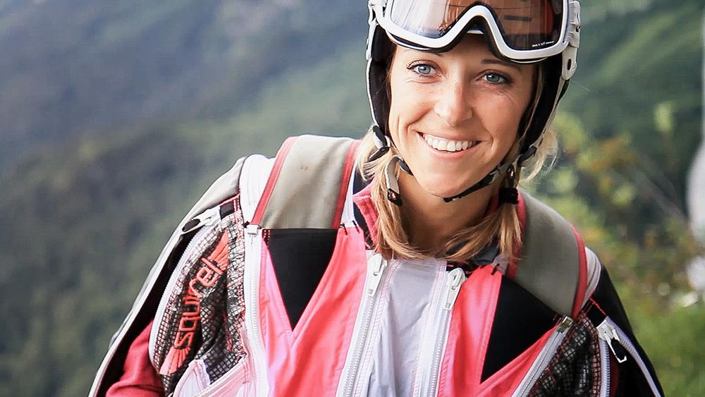 Fig. 2: Filmen er til dels et portræt af bjergudspringeren Ellen Brennan.