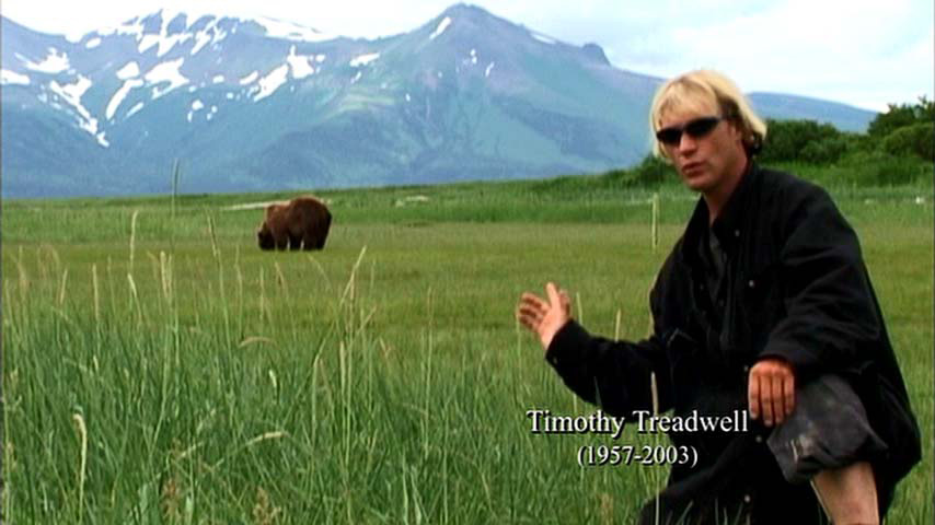 Fig. 10: Timothy Treadwell fra Grizzly Man (2005).