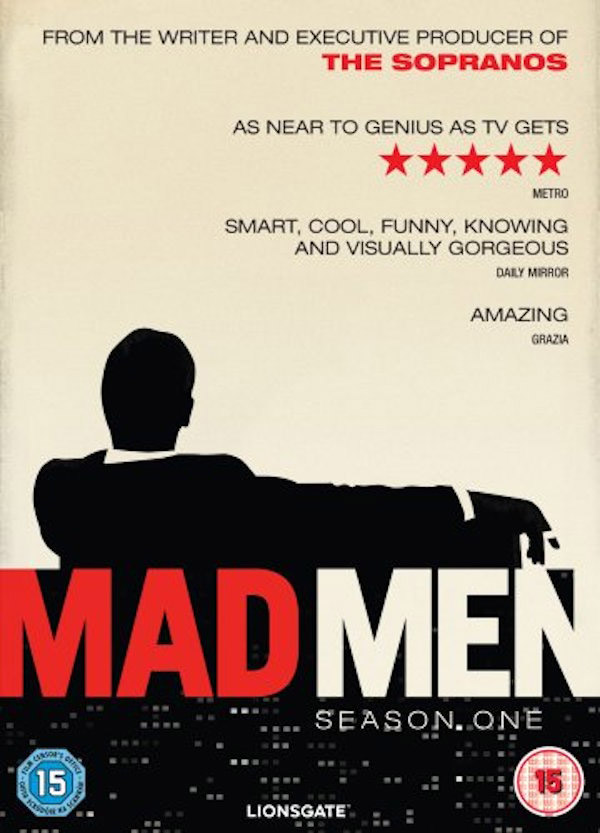 Fig. 2: Dvd-coveret til Mad Men (AMC, 2007-2014).