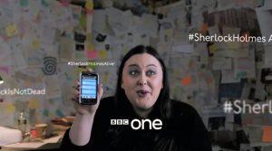 Fig. 3: BBC og Sherlock aktiverer brugerne på forskellige måder. Dette gøres bl.a. gennem BBC's officielle trailere.