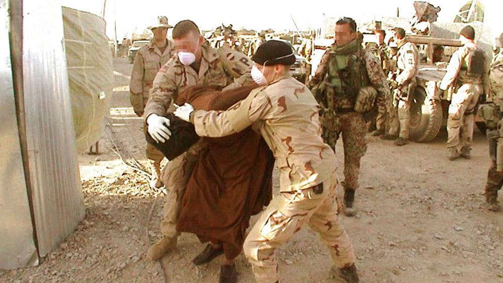 Fig. 9: Den omstridte danske dokumentarfilm, Den hemmelige krig (2006), er et pædagogisk eksempel på den autoritative form.