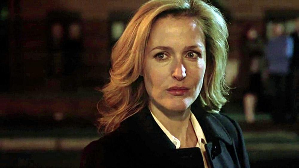 Fig.2 Stella Gibson spillet af Gillian Anderson.