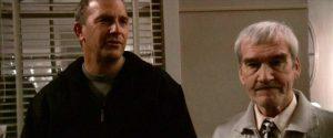 Figur 3: På turen til USA møder Stanislav sit store idol Kevin Costner.