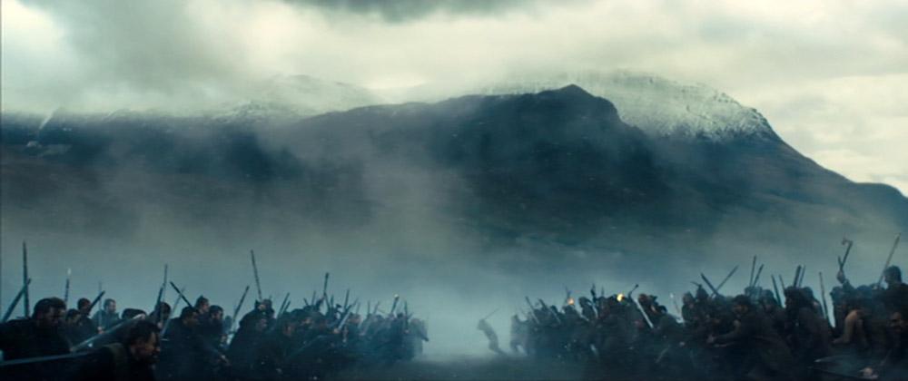 Figur 5: Kurzels tilgang til Macbeth lægger vægt på action.