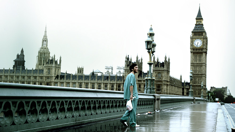 Fig. 1: The zombie genre is popular these days, and it is regularly being revitalised. 28 Days Later (2002) is one example of a modern zombie film.
