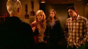 Fig. 6: iZombie is balanced between its episodic narratives and its serialised arc narrative, not unlike Buffy the Vampire Slayer (WB/UPN 1997-2003).