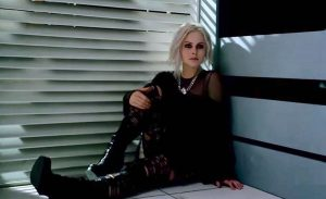 Fig. 11: In iZombie, the protagonist goes through a sort of reverse transformation.
