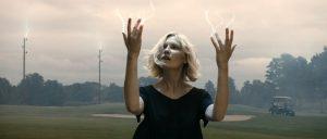 Fig. 2: Justine er til stede i de fænomener, der knytter sig til Jordens undergang.