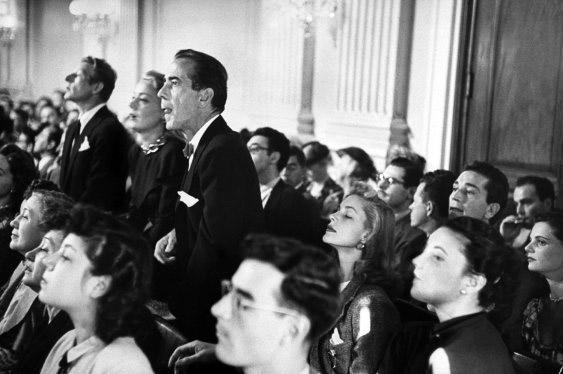 Fig. 5: Humphrey Bogart som tilskuer ved HUAC-høringerne.