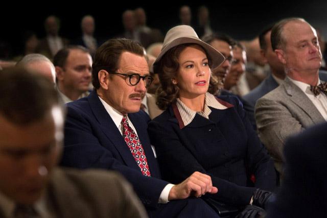 Fig. 8: Bryan Cranston og Diane Lane som Dalton og Cleo Trumbo.