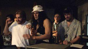 """Fig. 10: James Franco og hans bror, Dave, som henholdsvis Tommy Wiseau og Greg Sestero i filmatiseringen af """"The Disaster Artist""""."""