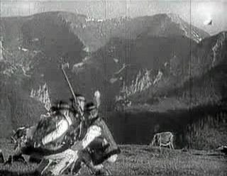 Fig. 8: The Earth Sings (dir. Karel Plicka, 1934). Dancing, singing, and folk costume were integral parts to the early Slovak cinematic aesthetic, which later Slovak directors often felt was a burden that they felt imposed upon them by non-Slovak audiences and government officials.