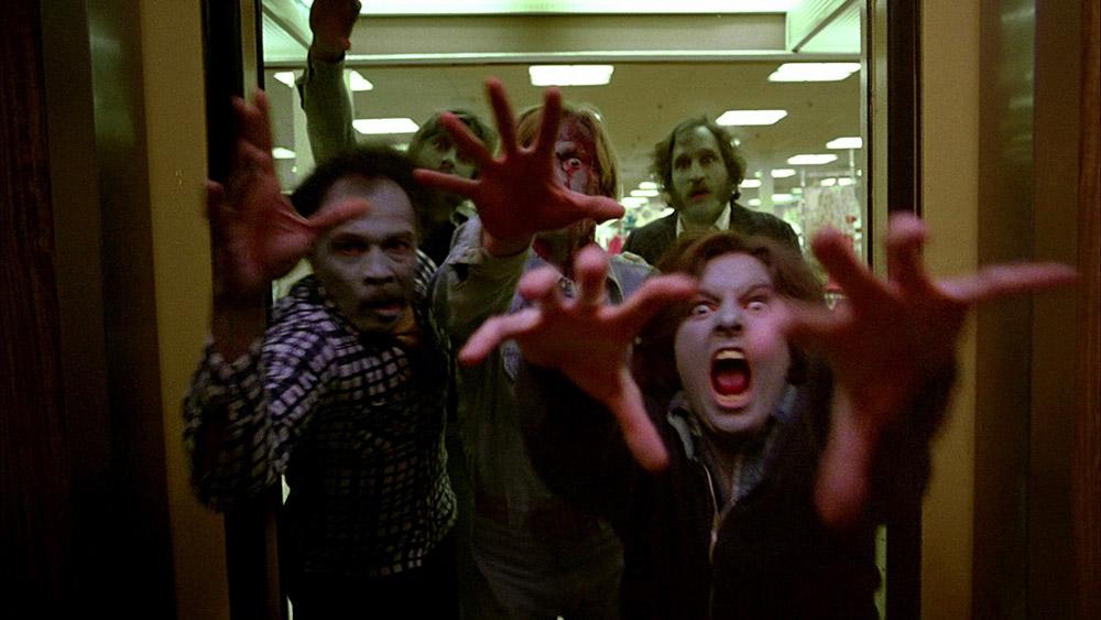 Fig. 6: Dawn of the Dead (1978) foregik ganske sigende i et kæmpe shoppingcenter og tematiserede da også forbrugerkultur og materialisme.